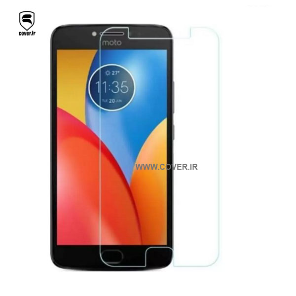 گلس موتورولا Tempered Glass 2.5d Brand 414 Glass for Motorola E4 Plus