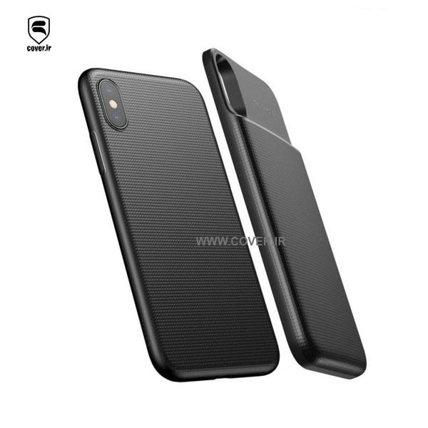پاور کیس Baseus Wireless Charge Backpack Power Bank IPhone X