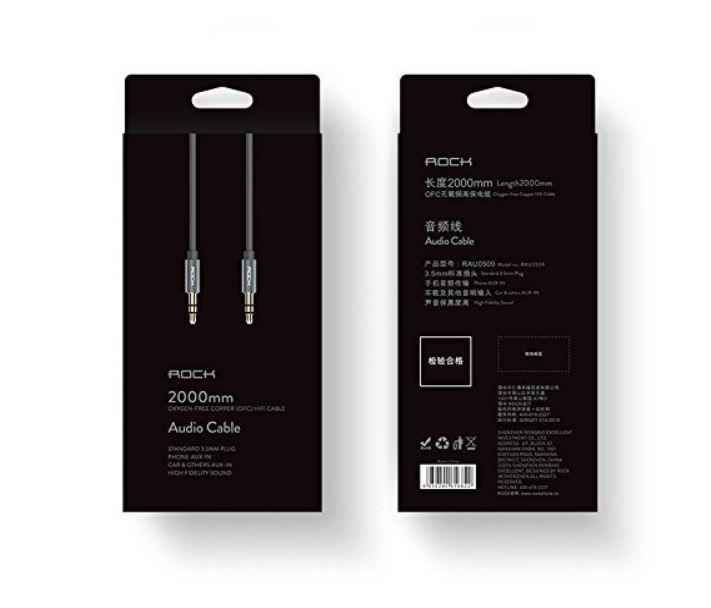کابل صدای راک ROCK Audio cable Oxygen-Free Copper